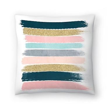 East Urban Home Charlotte Winter Zara Throw Pillow; 14'' x 14''