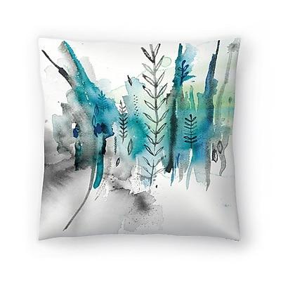 East Urban Home Paula Mills Nature No2 Throw Pillow; 14'' x 14''