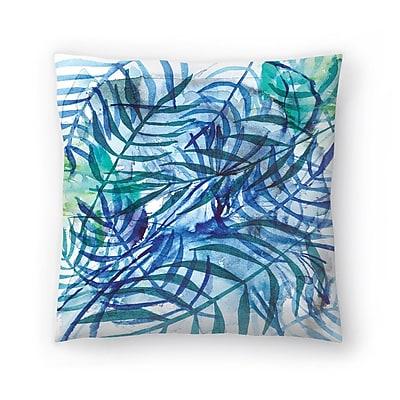 East Urban Home Paula Mills Nature No3 Throw Pillow; 14'' x 14''