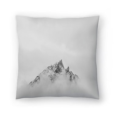 East Urban Home Luke Gram Grand Tetons Wyoming V Throw Pillow; 16'' x 16''
