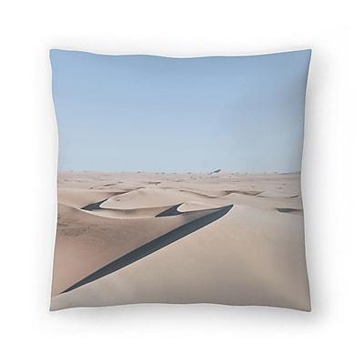 East Urban Home Luke Gram Huacachina Peru Throw Pillow; 20'' x 20''