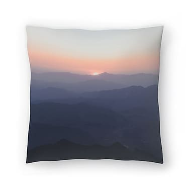 East Urban Home Luke Gram Huanghuacheng China Throw Pillow; 20'' x 20''