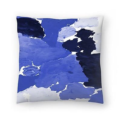 East Urban Home Charlotte Winter Kenni Throw Pillow; 20'' x 20''
