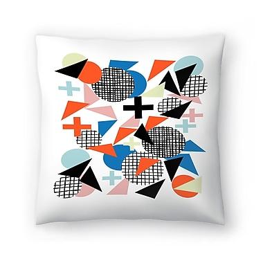 East Urban Home Charlotte Winter Kimbah Throw Pillow; 18'' x 18''