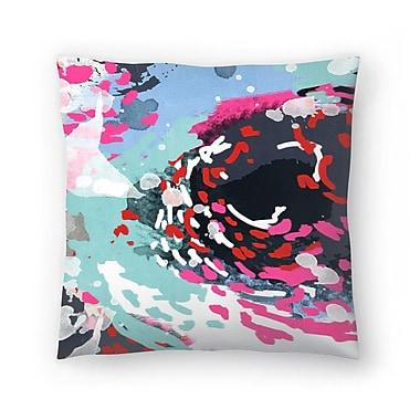 East Urban Home Charlotte Winter Kimball Throw Pillow; 18'' x 18''