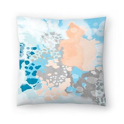 East Urban Home Charlotte Winter Sheyn Throw Pillow; 18'' x 18''