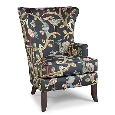 Fairfield Chair Wingback Chair; Mocha