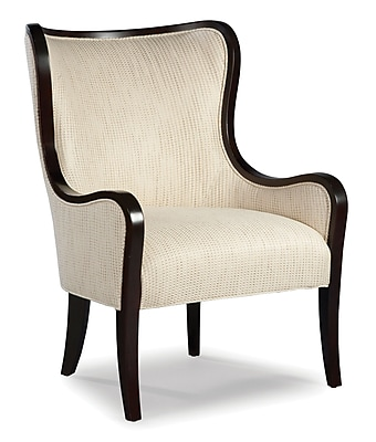 Fairfield Chair Tight Back Wingback Chair; Ebony