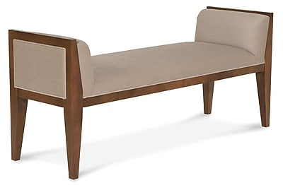 Fairfield Chair Upholstered Bedroom Bench; Java