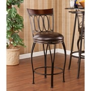 Fleur De Lis Living Georgina 25'' Swivel Bar Stool