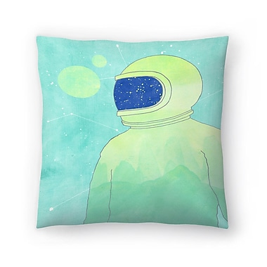 East Urban Home Tracie Andrews Wanderer Within Throw Pillow; 14'' x 14''