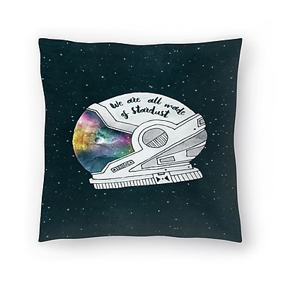 East Urban Home Tracie Andrews We are All Made of Stardust Throw Pillow; 20'' x 20''