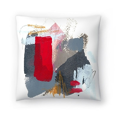East Urban Home Olimpia Piccoli Little Soldier II Throw Pillow; 14'' x 14''