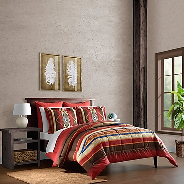 Loon Peak Holbrook Southwest Reversible Comforter Set; Twin