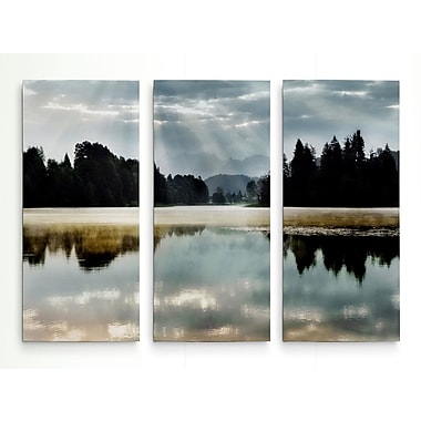 Loon Peak 'Morning Bliss I' Photographic Print Multi-Piece Image on Wrapped Canvas; 24'' H x 36'' W