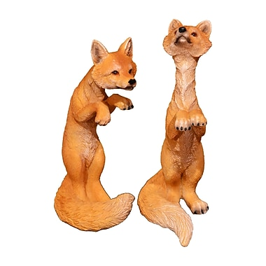 Loon Peak Jaqueline 5'' Playing Fox Brown Figurine