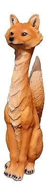 Loon Peak Jaqueline Sitting Fox Brown Figurine