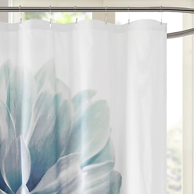 Latitude Run Griswold Percale 200 Thread Count Cotton Shower Curtain