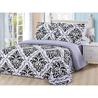 Red Barrel Studio Clemente 6 Piece Quilt and Sheet Set; King