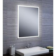 Orren Ellis Jessalyn LED Steel Base Bathroom/Vanity Mirror