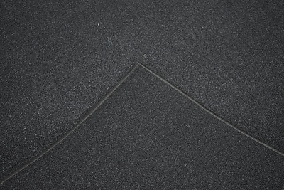 Orren Ellis Aly Black Solid Area Rug; Rectangle 2' x 3'