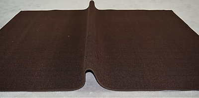 Orren Ellis Jann Brown Solid Area Rug; Rectangle 7'11'' x 9'10''