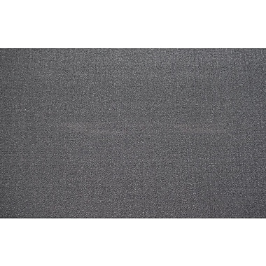 Orren Ellis Lejun Dark Gray Area Rug; Rectangle 2' x 3'