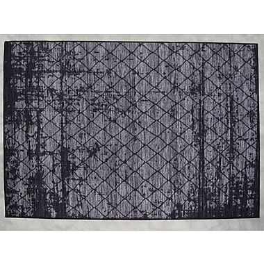 Orren Ellis Luqi Gray Area Rug; Rectangle 2' x 3'