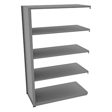 Tennsco Capstone Boltless Shelving Unit Add-on; 120.5'' H x 76'' W x 48'' D