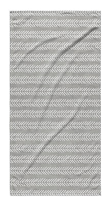 Union Rustic Dalton Geometric Cloth Bath Towel w/ Single Sided Print; Gray