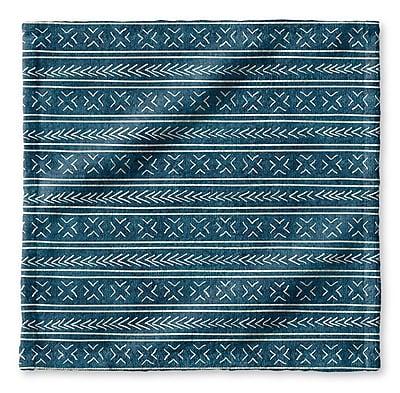 Union Rustic Dalton Geometric Cloth Washcloth; Teal