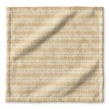 Union Rustic Dalton Cloth Washcloth; Cream
