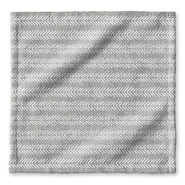 Union Rustic Dalton Cloth Washcloth; Gray