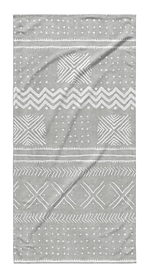 Union Rustic Dalton Cloth Bath Towel; Gray