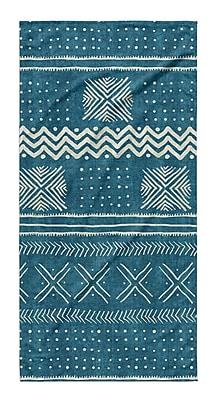 Union Rustic Dalton Cloth Bath Towel; Teal
