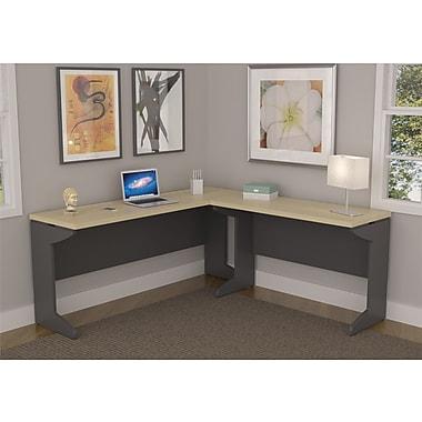 Red Barrel Studio Cassy L-Shape Corner Desk; Without hutch