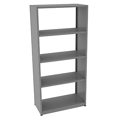 Tennsco Capstone Boltless 76'' H Shelving Unit Starter; 76'' H x 36'' W x 18'' D