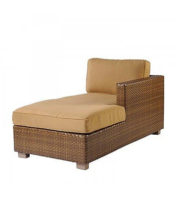 Woodard Sedona Right Arm Facing Chaise Lounge w/ Cushion; Summit Spark