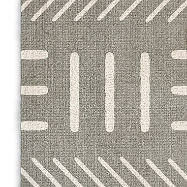 Union Rustic Grosso Gray Area Rug; Rectangle 8' x 10'