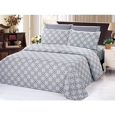 Varick Gallery Quesada 3 Piece Duvet Set; King