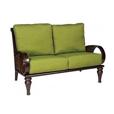 Woodard North Shore Loveseat w/ Cushions; Axel Smoke