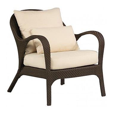 Woodard Bali Patio Chair w/ Cushions; Canvas Parrot