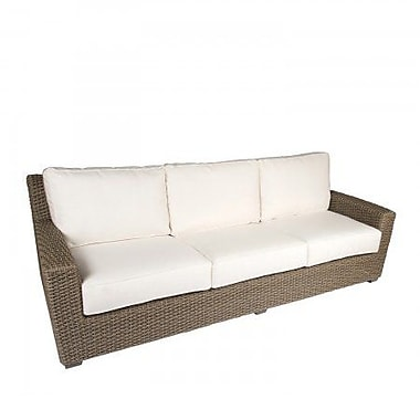 Woodard Augusta Sofa w/ Cushions; Summit Peony