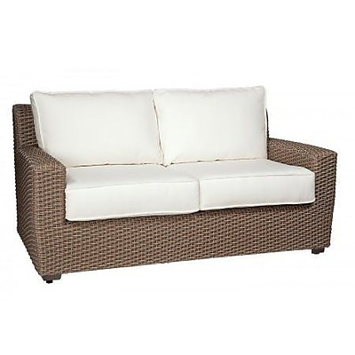 Woodard Augusta Loveseat w/ Cushions; Canvas Navy