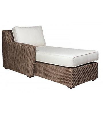 Woodard Augusta Chaise w/ Cushion; Summit Peony