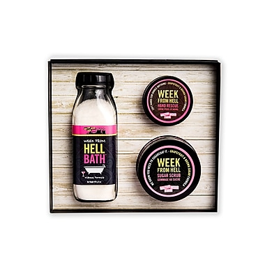 Walton Wood Farm Week from Hell Gift Set, Grapefruit and Brown Sugar (KWWEE)