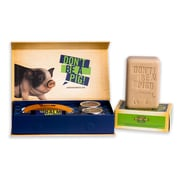 Walton Wood Farm Boy's Don't Stink Giftset with Bar Soap and Grooming Kit (KBYSET)