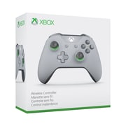 Xbox One Wireless Controller, Bluetooth, Grey/Green