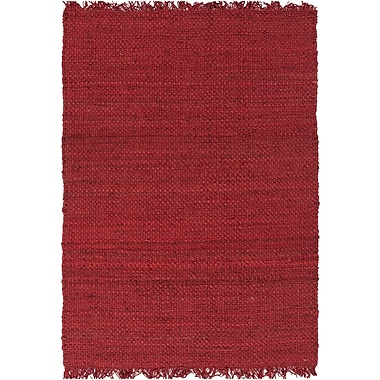 World Menagerie Pineda Red Area Rug; 2' x 3'