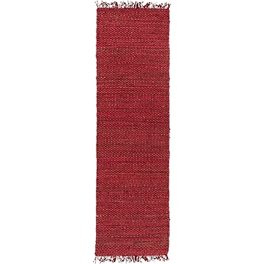 World Menagerie Pineda Red Area Rug; Runner 2'3'' x 8'